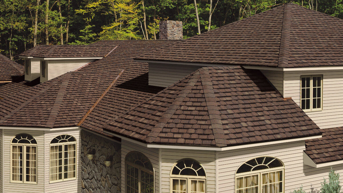 Multi Brown Roofing