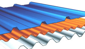 Corrguated Metal -Roof